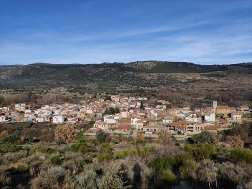 Vista del pueblo entero desde el monte